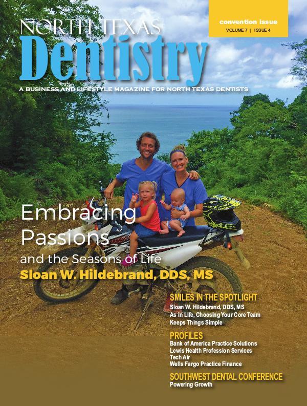 North Texas Dentistry Volume 7 Issue 4 NTD 2017 ISSUE 4 CONV DE