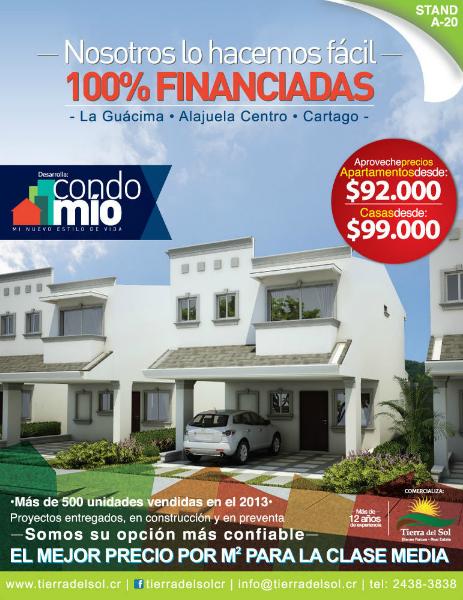 CondoMío - El MEJOR precio por m2 para la clase media Marzo 2014