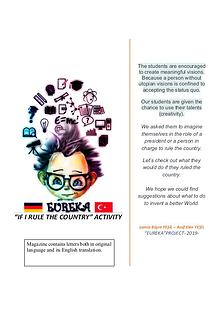 EUREKA Project - Student Essays