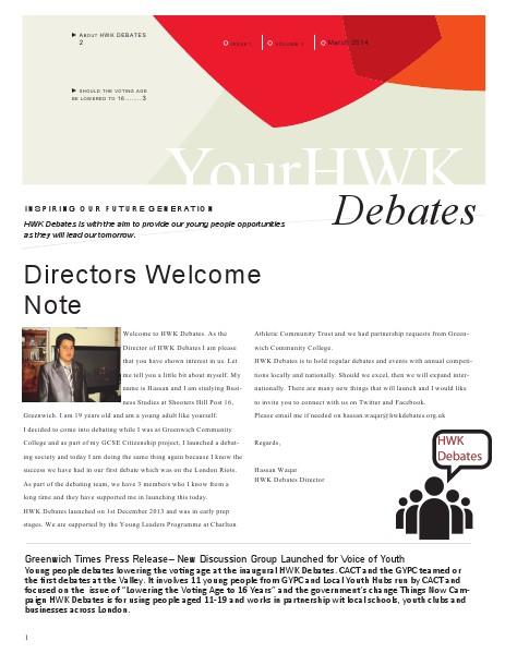 YourHWK Debates March 2014