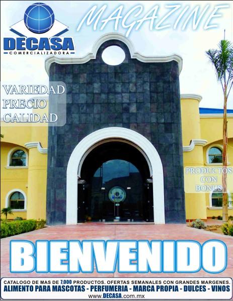 DECASA MAGAZINE MARZO DEL 2014
