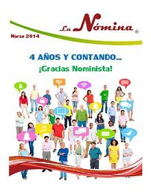 Aniversario La Nomina 2014