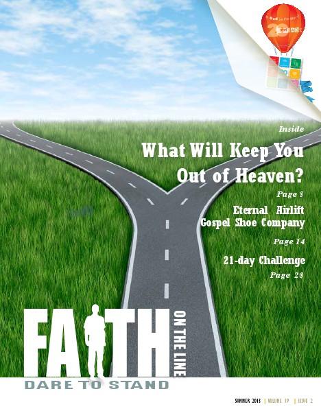 Faith On The Line - Stress, Stress Go Away Vol 19