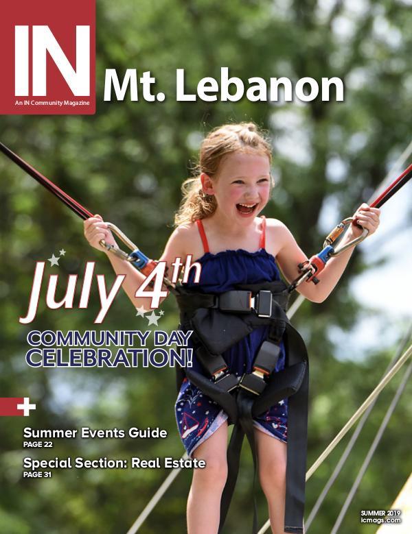 IN Mt. Lebanon Summer 2019