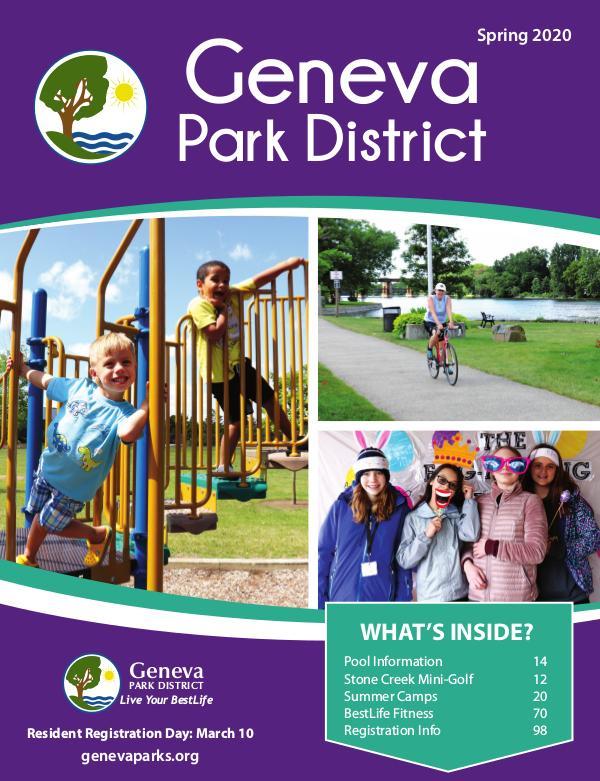 Geneva Park District Spring 2020 Program Catalog Spring2020_ProgramGuide_Joomag
