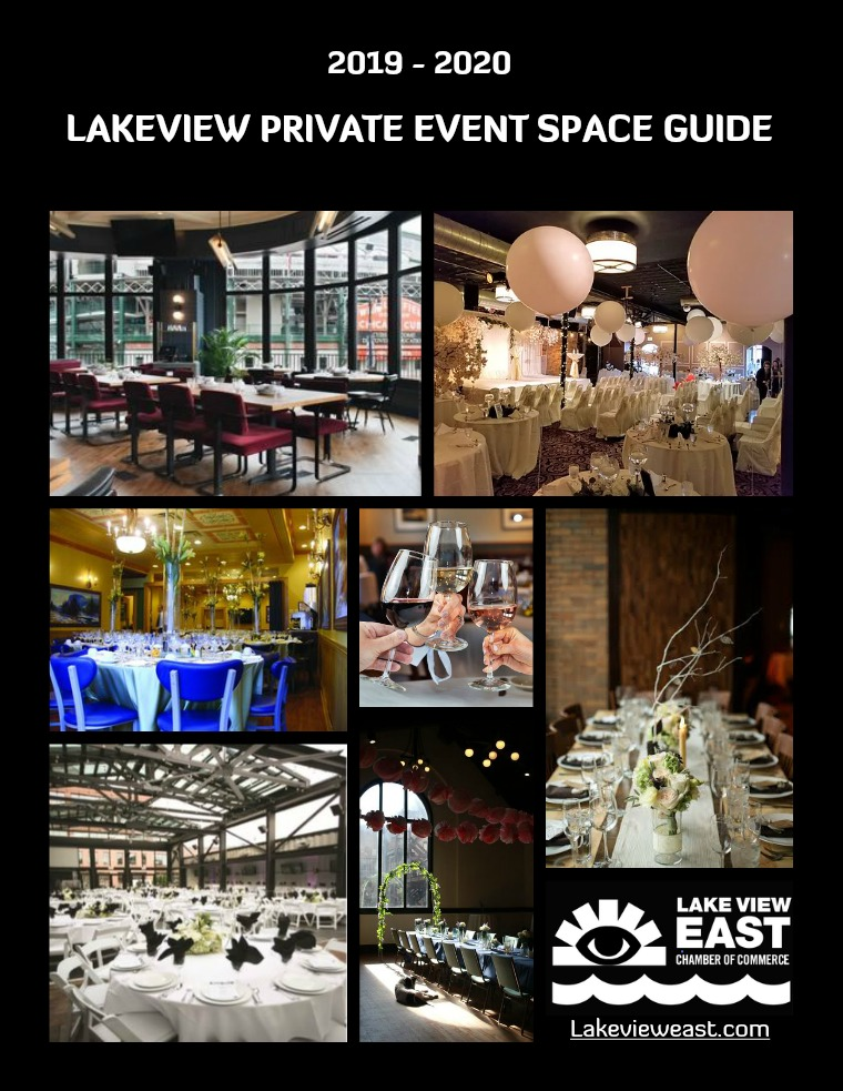 2019 | 2020 Lakeview Private Event Space Guide 2020 Lakeview Private Event Space Guide