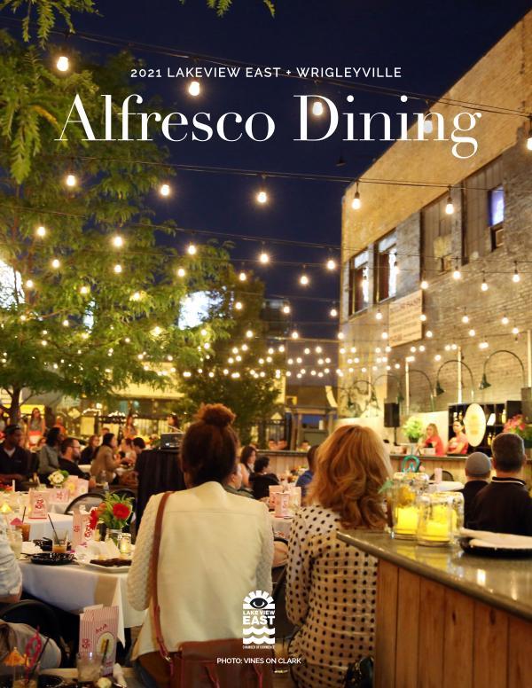 2021 Al Fresco Dining Guide 2021