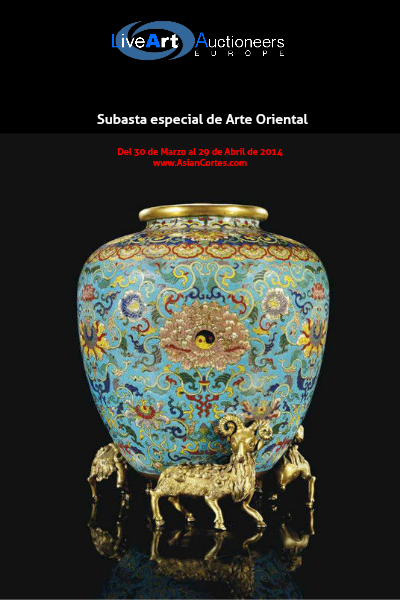 Catalogo Subasta Antiguedades Libro electrónico.pdf Catalogo de la subasta de arte orientalMar. 2014