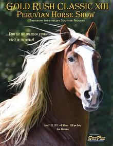 Gold Rush Classic Peruvian Horse Show - 2013