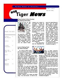 HSD Tiger News volume 1