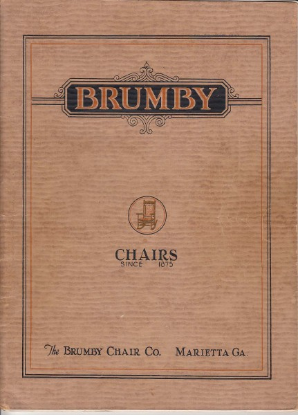 Brumby Rocker Brochures 1930 Catalog
