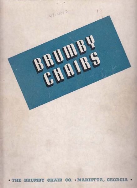 Brumby Rocker Brochures 1941 Catalog