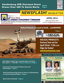 APRIL 2014 Economic Dev Newsletter - Santa Maria.pdf