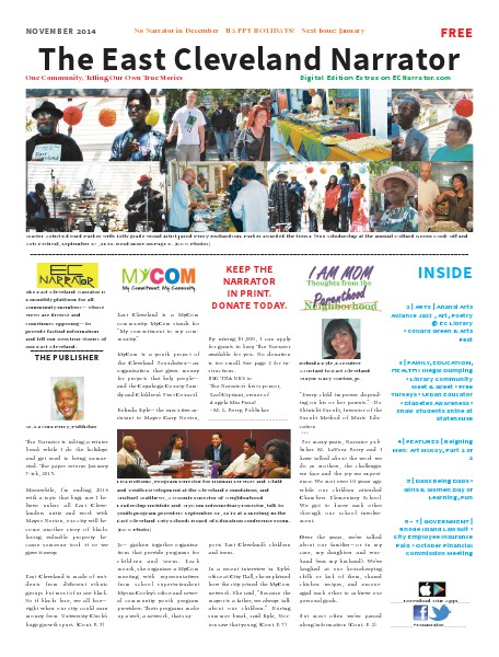 The East Cleveland Narrator Issue 7, November 2014
