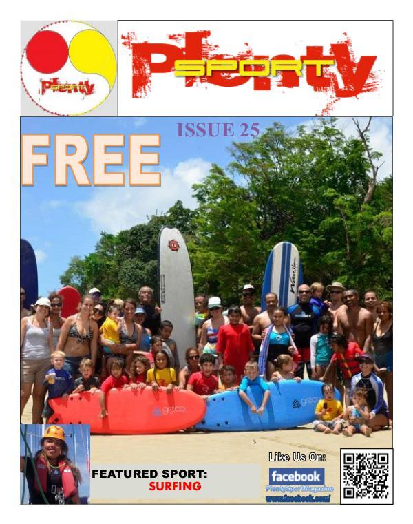 Plenty Sport : EZINE 25 Surfing