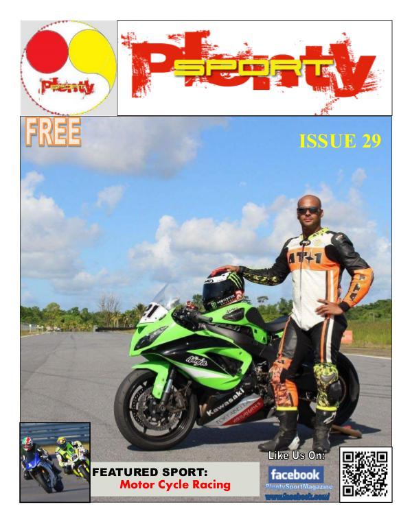 Plenty Sport : EZINE 29 Motor Bike Racing