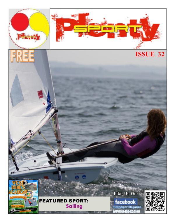 Plenty Sport : EZINE 32 Sailing