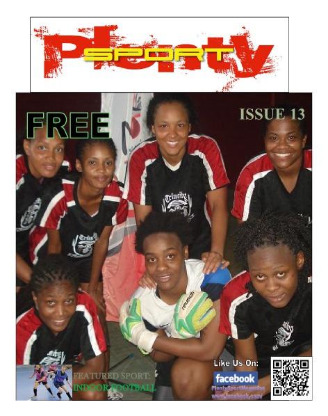 ISSUE 13 - INDOOR FOOTBALL