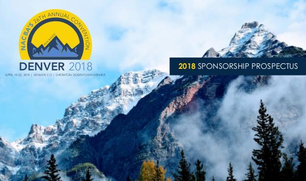#NACBADEN Denver 2018 Sponsor-Exhibitor Prospectus 2018 (1)
