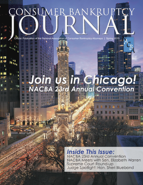 Consumer Bankruptcy Journal Spring 2015