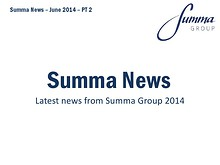 Summa Group News June 2014 PT2