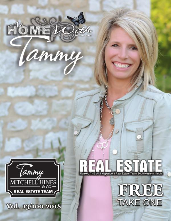 At Home with Tammy Real Estate Magazine Spring 2018
