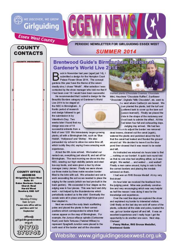 GGEW Summer 2014