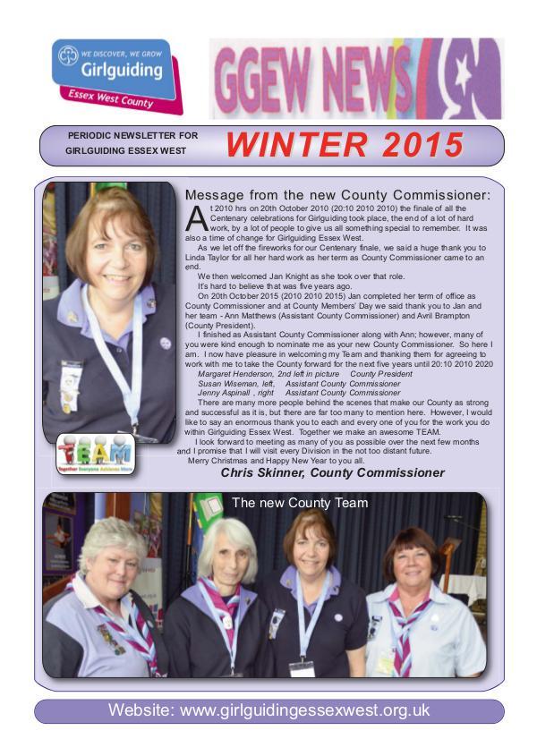 GGEW Winter 2015
