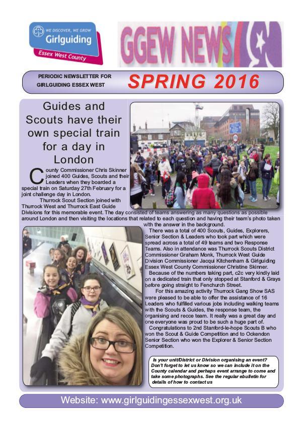 GGEW Spring 2016