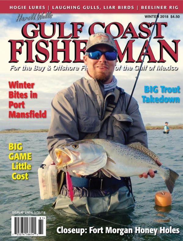 Gulf Coast Fisherman Magazine Vol 42 No. 1 - WINTER 2018