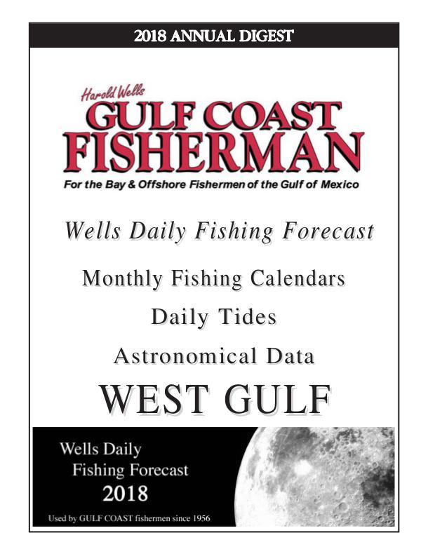 Gulf Coast Fisherman Magazine 2018 WEST GULF ANNUAL