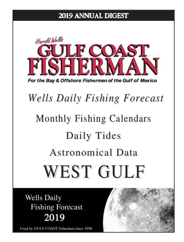 Gulf Coast Fisherman Magazine 2019 WEST GULF ANNUAL