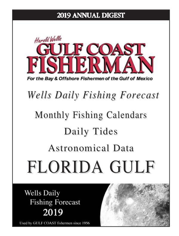 2019 FLORIDA GULF FORECAST