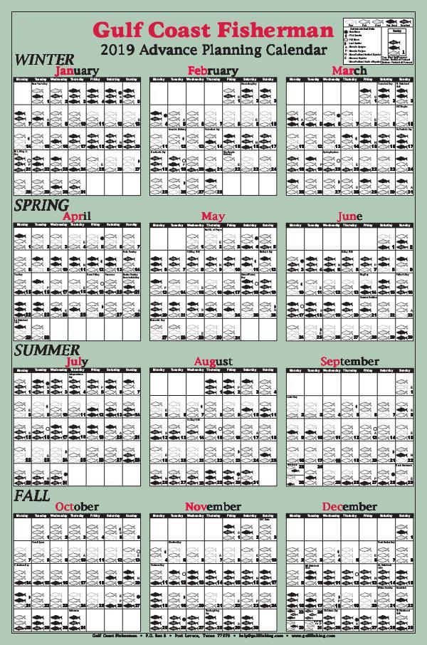 2019 Advance Calendar