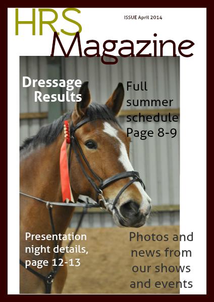 Hallamshire Riding Society Magazine volume 1