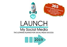 Launch My Social Media - Lifestyle & Content Planner
