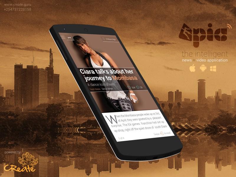 Epic Video Application April 2014