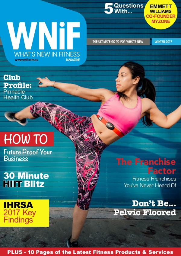 WNiF Magazine - Winter 2017 Edition