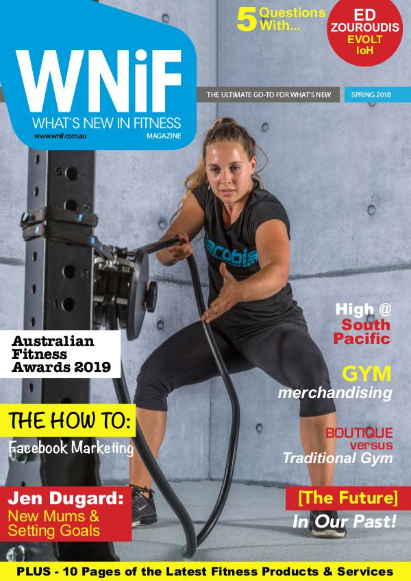 WNiF Magazine - Spring 2018 Edition
