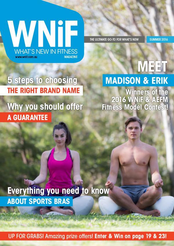 WNiF Magazine - Summer 2016 Edition