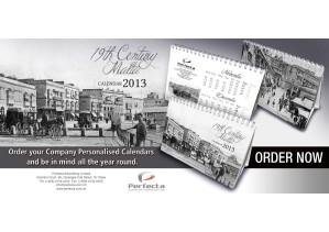 2013 Personalized Malta Desk Calendars 2013 Malta Desk Calendars