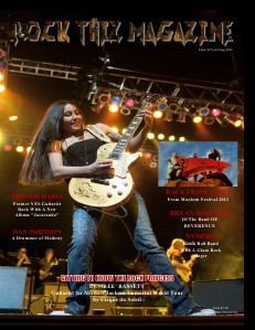 Rock Thiz Magazine Digital 1 Year Subscription Rock Thiz Magazine Issue #6 Vol.2 July 2012
