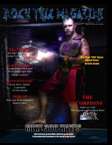 Rock Thiz Magazine Digital 1 Year Subscription Rock Thiz Magazine Issue  #5 Vol.2 July. 2012