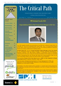 PMI Newsletter  Aug. 2012