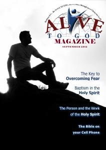 Alive to God Magazine - September 2012 Alive to God Magazine - September 2012