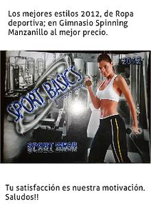 Ropa Deportiva para Gimnasio en Manzanillo