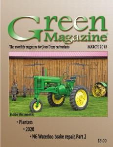 Green Magazine March 2013