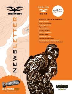 Valken Newsletter Spring 2013