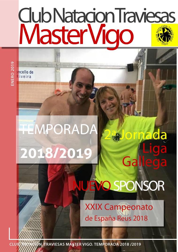 Club Natación Traviesas Master Vigo ENERO 2019