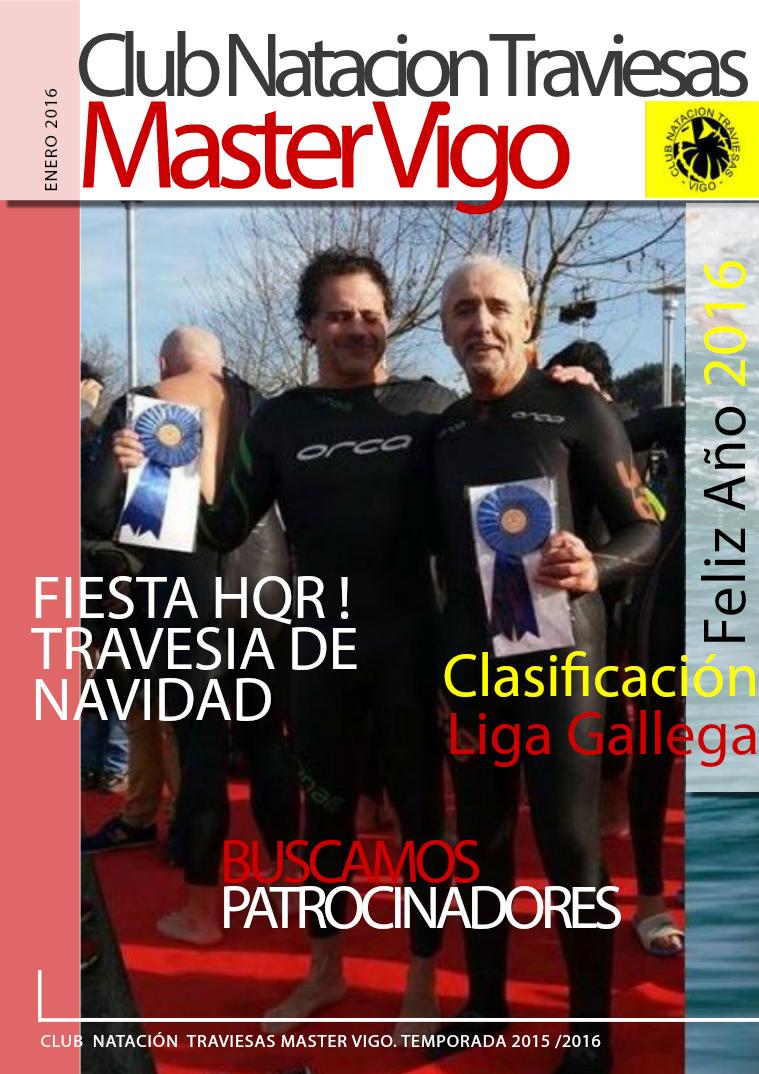 Club Natación Traviesas Master Vigo Enero